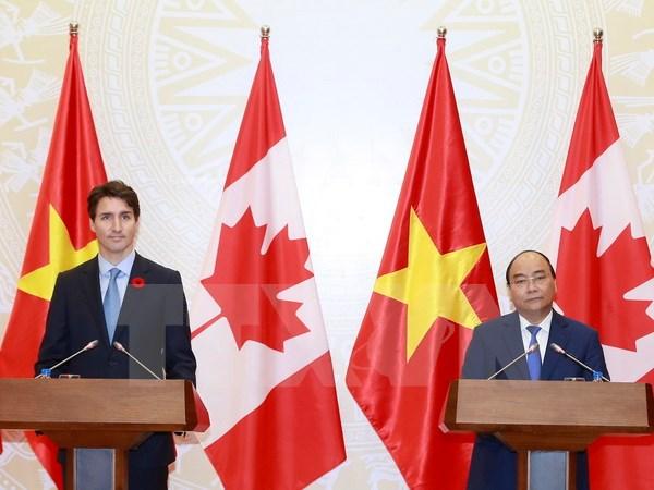 Tuyên bố chung Việt Nam - Canada