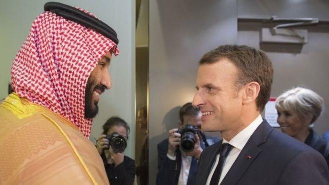 Tổng thống Pháp đến Saudi Arabia tìm cách giải quyết vấn đề khu vực
