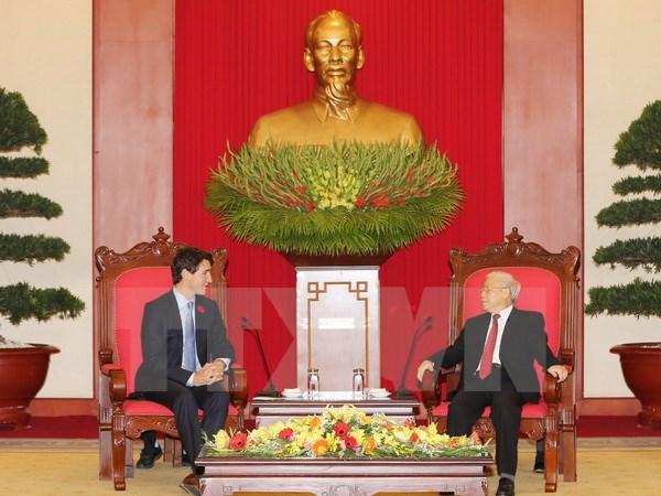 Báo Canada đưa đậm nét về chuyến thăm Việt Nam của Thủ tướng Trudeau