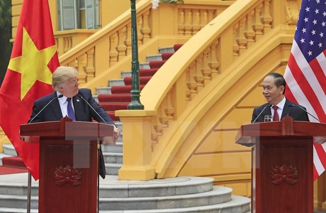 Tổng thống Hoa Kỳ kết thúc tốt đẹp chuyến thăm cấp Nhà nước Việt Nam