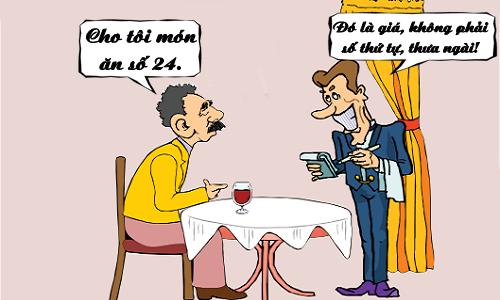 Cách gọi món ở nhà hàng