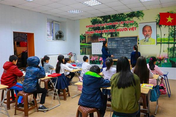 Lớp học tiếng Việt tại làng Staritskogo, Odessa