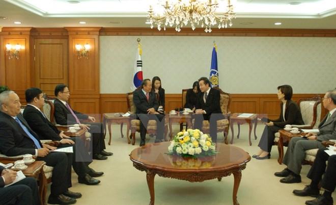 Việt Nam và Hàn Quốc tăng cường thúc đẩy quan hệ thời gian tới