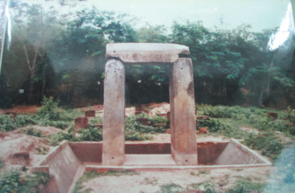 Di tích khảo cổ chứa đựng bảo vật quốc gia