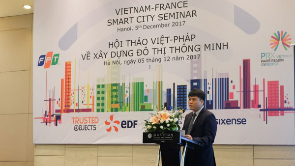 Việt Nam sẽ có ít nhất 3 thành phố thông minh vào năm 2020