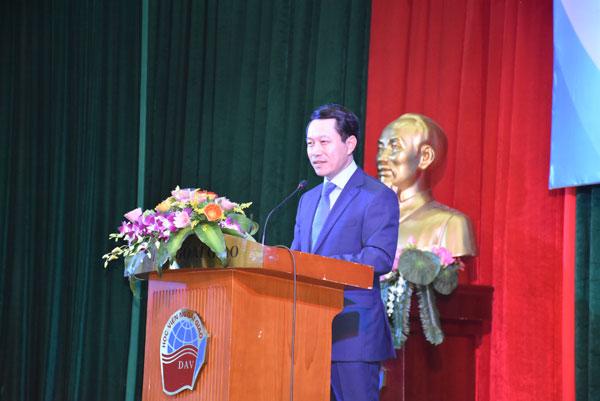 Bộ trưởng Ngoại giao Lào thăm và nói chuyện với sinh viên Học viện Ngoại giao Việt Nam