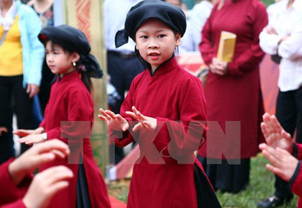 Hát Xoan được công nhận là Di sản văn hóa phi vật thể đại diện của nhân loại