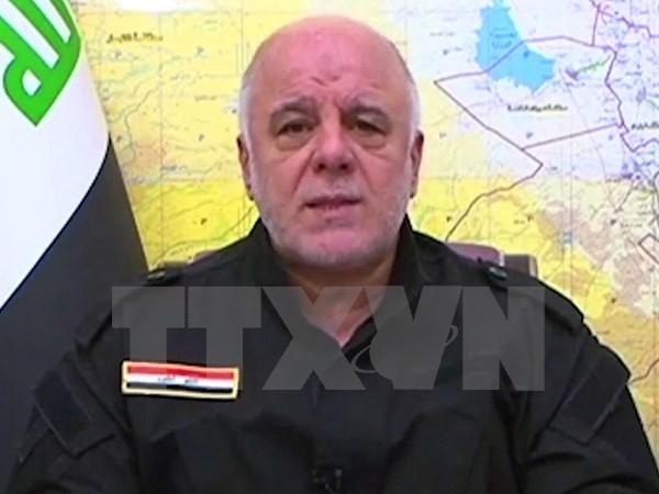 Thủ tướng Iraq kêu gọi hợp tác quốc tế nhằm xóa sổ hoàn toàn IS