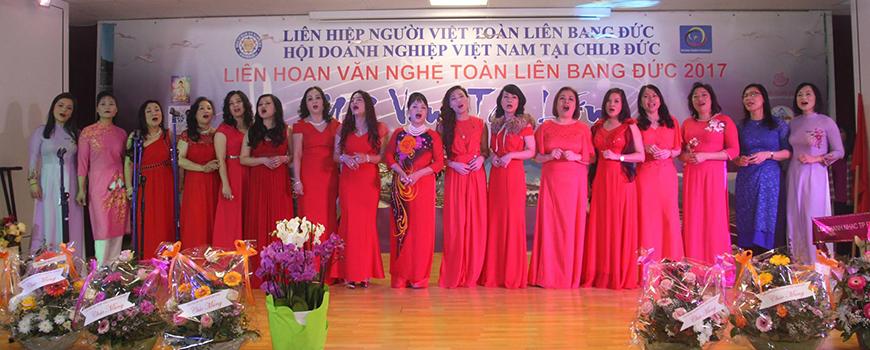 """""""Nối vòng tay lớn"""" - Liên hoan văn nghệ của người Việt Nam trên toàn CHLB Đức"""