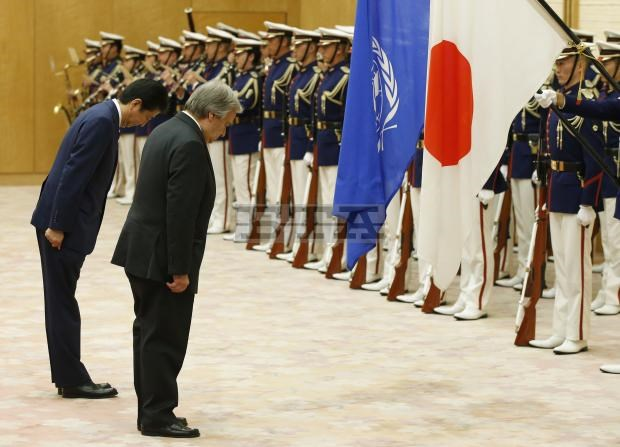 Tổng Thư ký Liên hợp quốc thăm Nhật Bản bàn về vấn đề Triều Tiên