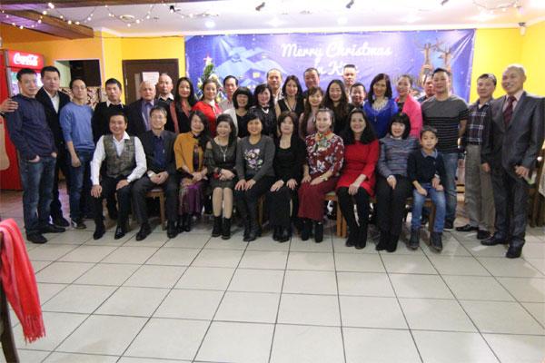 Mừng Giáng sinh - Chào đón Năm mới 2018 cùng các gia đình người Việt tạiKiev