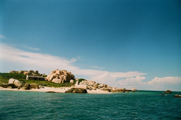 Thư giãn ở Cù Lao Câu xanh thắm
