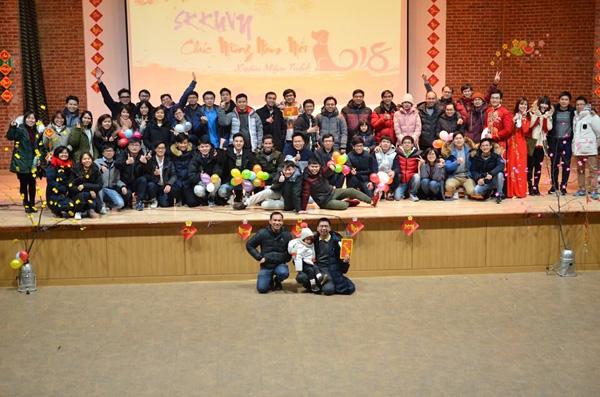 Sinh viên Việt Nam tại ĐH Sungkyunkwan, Hàn Quốc mừng Năm mới
