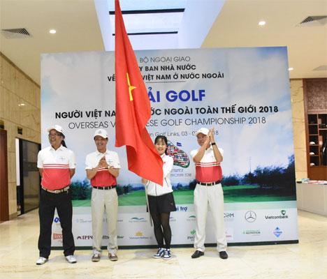Gần 150 golf thủ kiều bào tranh tài tạiGiải Golf người Việt Nam ở nước ngoài toàn thế giới 2018