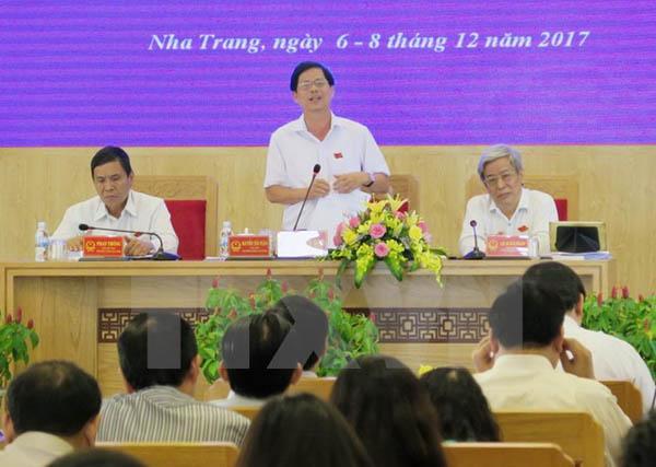Hoàn thiện Đề án thành lập đơn vị hành chính-kinh tế Bắc Vân Phong