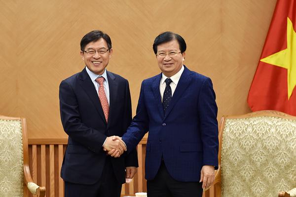 Chính phủ mong muốn Samsung tiếp tục mở rộng sản xuất tại Việt Nam
