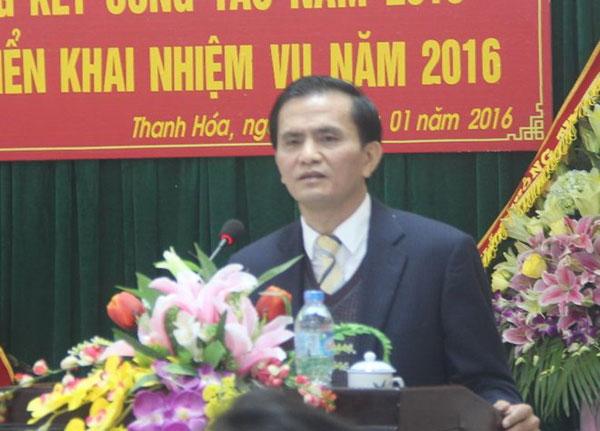 Công bố quyết định kỷ luật đối với Phó Chủ tịch UBND tỉnh Thanh Hóa