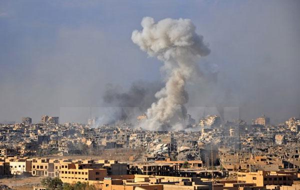 Máy bay không người lái tấn công 2 căn cứ của Nga tại Syria