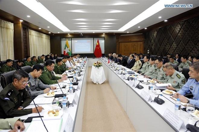 Trung Quốc-Myanmar cam kết duy trì hòa bình và ổn định biên giới