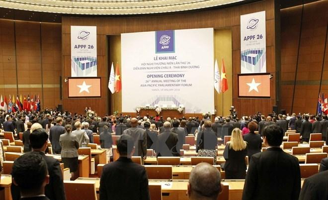 APPF 26 thảo luận về chính trị, an ninh, kinh tế và thương mại