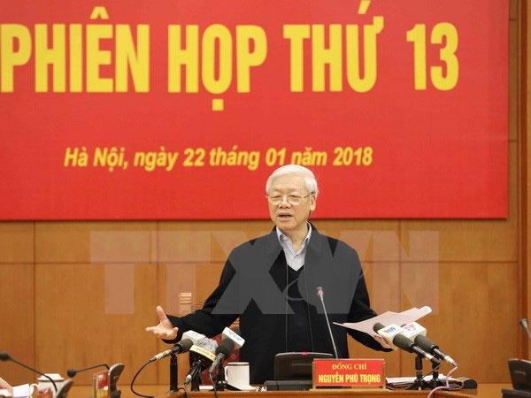 Phiên họp thứ 13 Ban Chỉ đạo Trung ương về phòng, chống tham nhũng