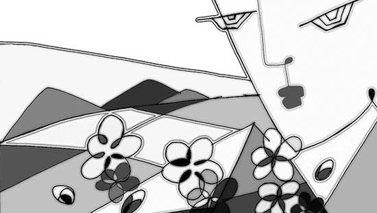 Gửi hoa đào ra đảo