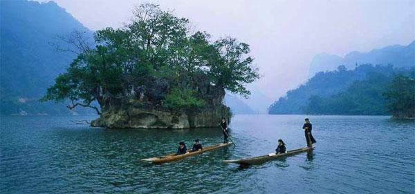 Nét đẹp bồng lai Hồ Ba Bể