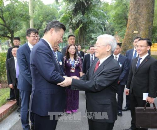 """""""Những dấu ấn đậm nét từ chuyến thăm cấp Nhà nước tới Việt Nam và dự Hội nghị cấp cao APEC của Tổng Bí thư, Chủ tịch nước Trung Quốc Tập Cận Bình"""""""