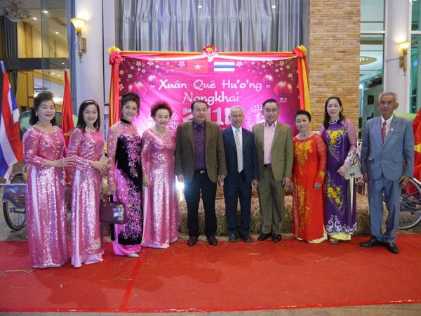 Kiều bào tại Thái Lan đón Tết cổ truyền Mậu Tuất 2018