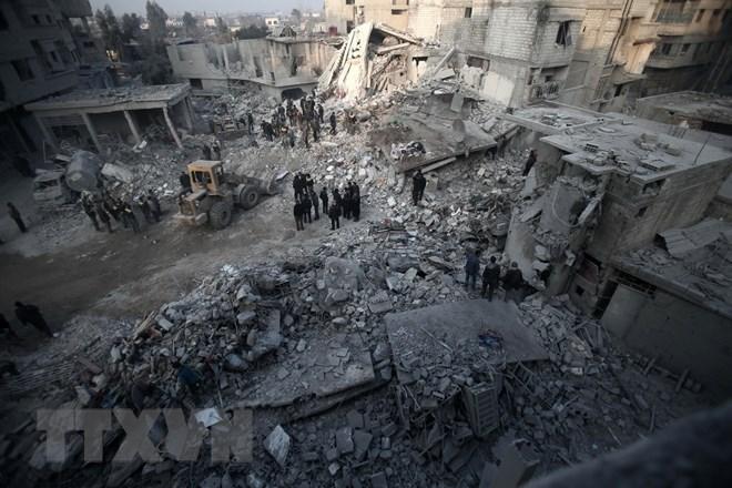 LHQ chuẩn bị chuyển đồ viện trợ vào vùng chiến sự ác liệt Đông Ghouta