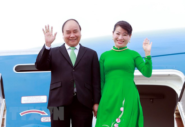 Thủ tướng Nguyễn Xuân Phúc lên đường thăm New Zealand và Australia