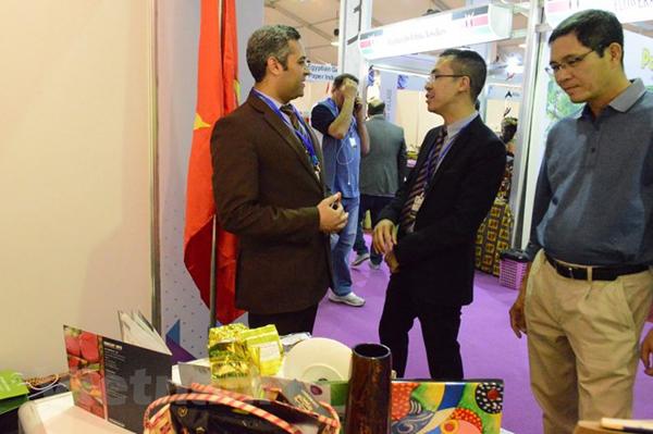 Mặt hàng nông, lâm, thủy sản Việt Nam hút khách tại hội chợ ở Cairo