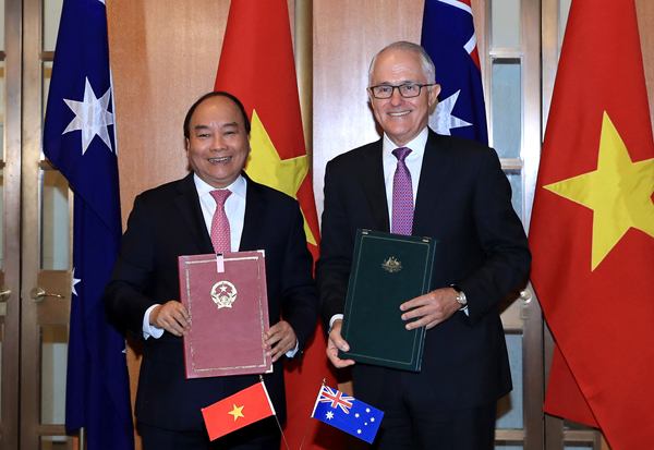 Việt Nam, Australia thiết lập quan hệ Đối tác chiến lược