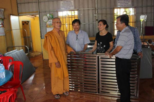 Hoạt động từ thiện của kiều bào tại Campuchia