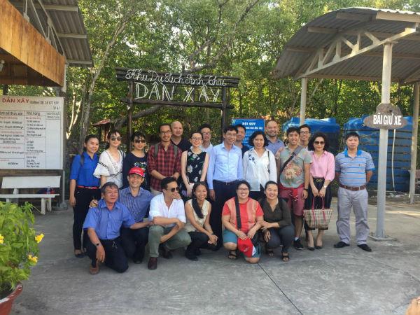 Kiều bào trẻ Việt Nam: Thăm quan khu rừng ngập mặn Cần Giờ
