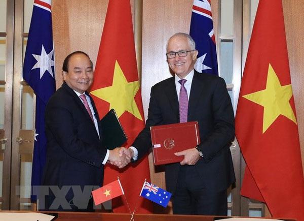 Thủ tướng kết thúc tốt đẹp chuyến thăm New Zealand, Australia