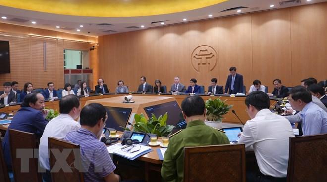 Doanh nghiệp Mỹ muốn hỗ trợ Hà Nội xây Trung tâm ứng cứu khẩn cấp