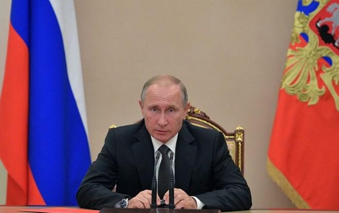 Tổng thống Nga Vladimir Putin khẳng định IS đã bị tiêu diệt ở Syria