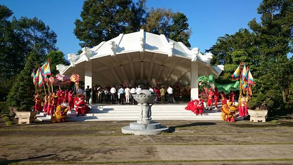 Về thăm Khu di tích cụ Nguyễn Sinh Sắc