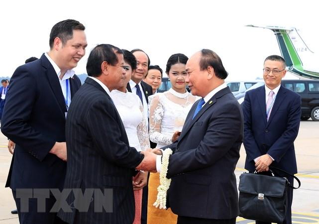 Thủ tướng Nguyễn Xuân Phúc kết thúc dự Hội nghị Ủy hội Sông Mekong