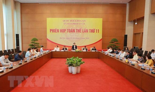 Đề nghị điều chỉnh Chương trình xây dựng luật, pháp lệnh năm 2018