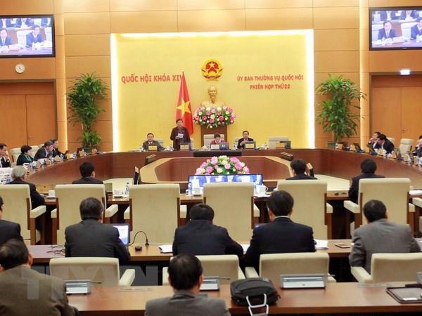 Ngày 10/4 bắt đầu phiên họp thứ 23 của Ủy ban Thường vụ Quốc hội
