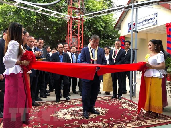 Campuchia khánh thành đài phát sóng tỉnh do Việt Nam tài trợ