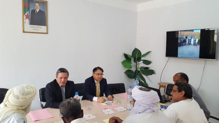Tìm kiếm cơ hội hợp tác với tỉnh Tamarasset của Algeria