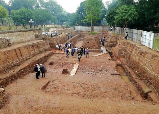 Phát lộ dấu tích cung điện quy mô lớn ở Hoàng thành Thăng Long