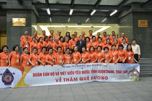 Thứ trưởng Vũ Hồng Nam: Đoàn kết là tinh thần yêu nước của kiều bào ở nước ngoài