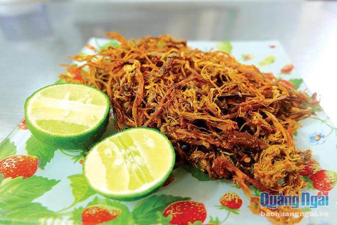 Hương vị bò khô xứ Quảng