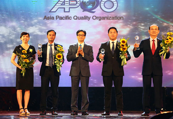 Trao tặng Giải thưởng Chất lượng quốc gia cho 73 doanh nghiệp