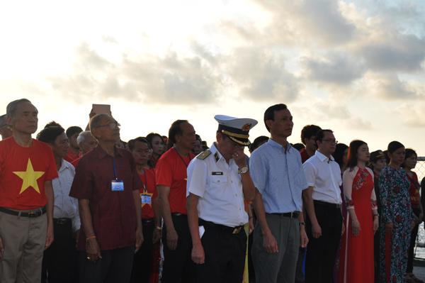 Lễ tưởng niệm các anh hùng liệt sỹ trên quần đảo Trường Sa