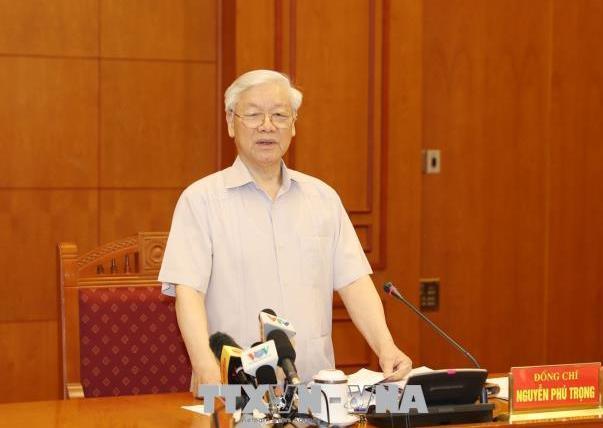 Tổng Bí thư chỉ đạo xử lý một số vụ án tham nhũng nghiêm trọng